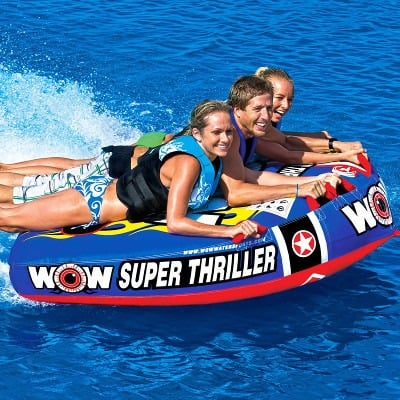 Wow Super Thriller 3 Person Deck Tube Watersports Warehouse