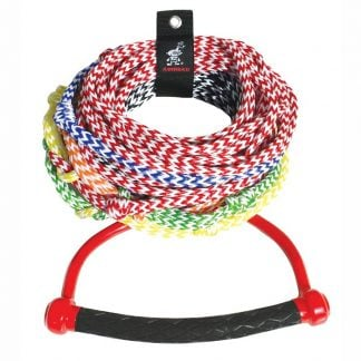 Airhead 8-section-radius-handle-ski-rope