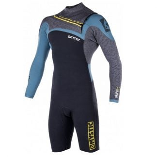 Mystic Drip Long Arm Shorty wetsuit