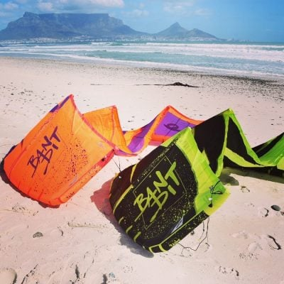 Kitesurfing in Cape Town, South Africa