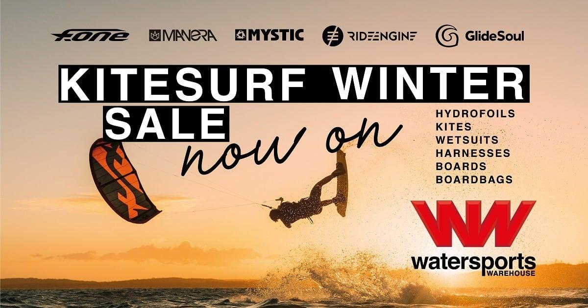 kitesurfing winter sale