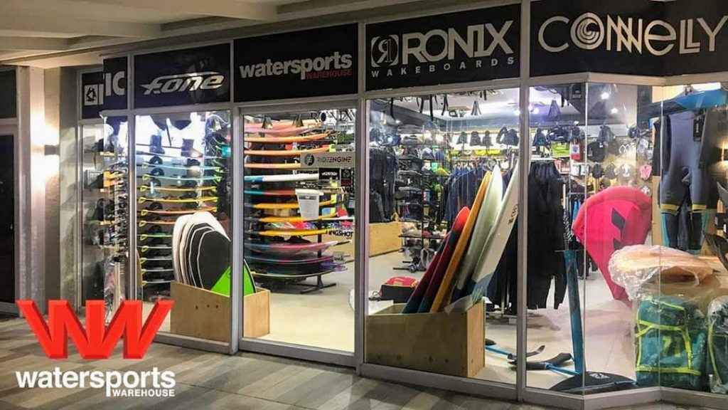 Watersports Warehouse shop front