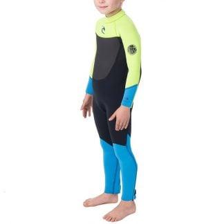 rip curl youth dawn patrol 3/2 wetsuit