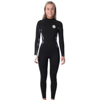 Ripcurl Dawn Patrol 4/3mm Backzip Womens Wetsuit 2020