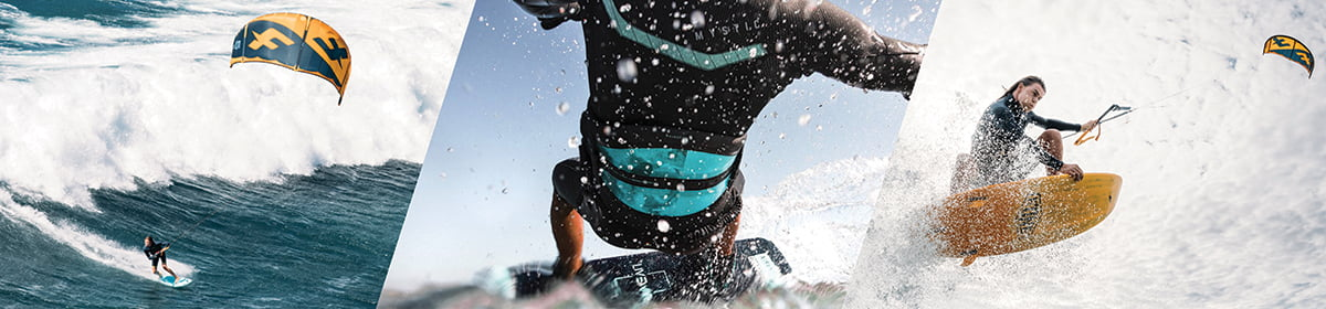 rental of kitesurfing, wakeboarding, foils or waterski and wetsuits