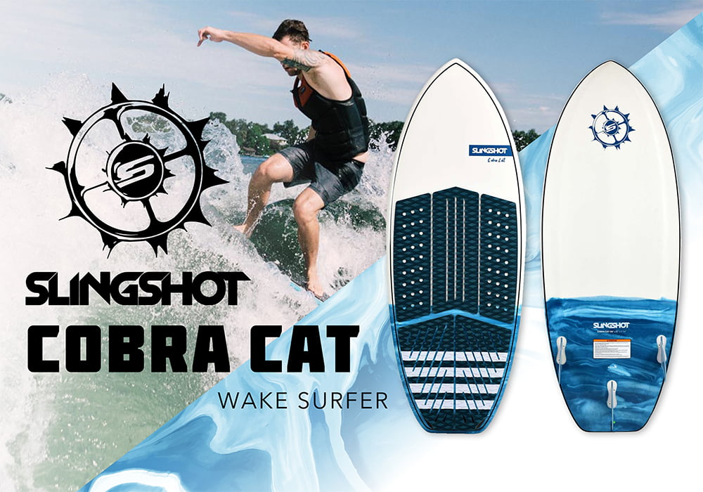 Link to home page banner of Slingshot Cobra Cat Wake surfer