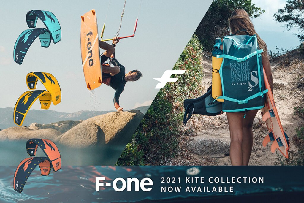 Link to home page banner of F-one 2021 products