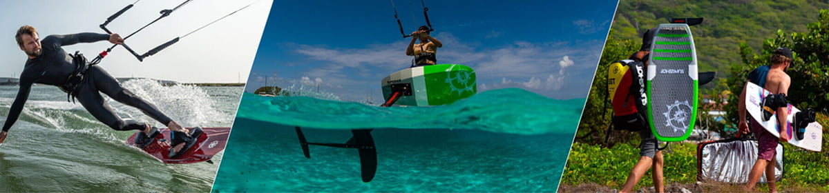 Slingshot Wake and Kitesurfing equipment available at Watersports Warehouse