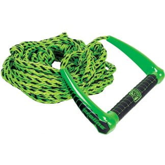 PROLINE by Connelly 25' LGS Surf Rope Package, Suede Stitched Handle, Green